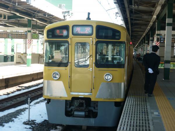2014-02-16 西武2087F 各停所沢行き2