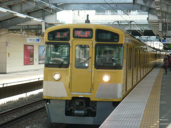 2014-02-28 西武2073F 各停所沢行き1