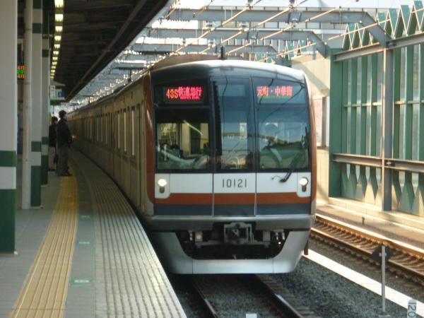 2014-03-09 メトロ10121F 快速急行元町・中華街行き