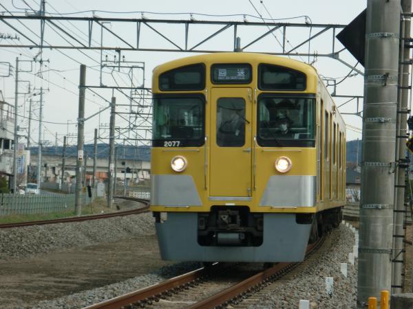 2014-03-09 西武2077F 回送