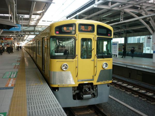 2014-03-09 西武2087F 各停池袋行き2