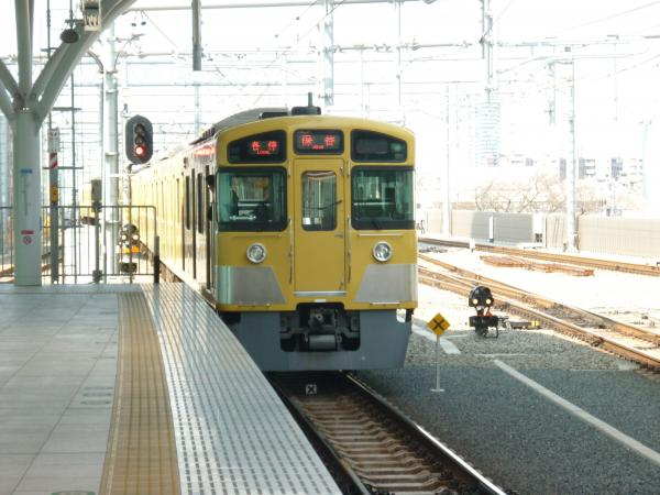 2014-03-09 西武2087F 各停保谷行き3
