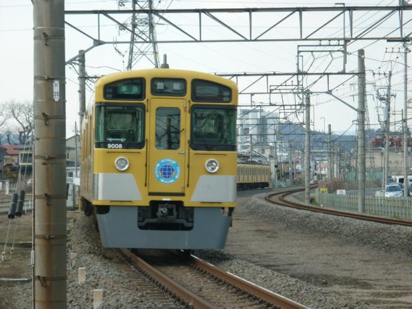 2014-03-09 西武9108F 準急飯能行き2