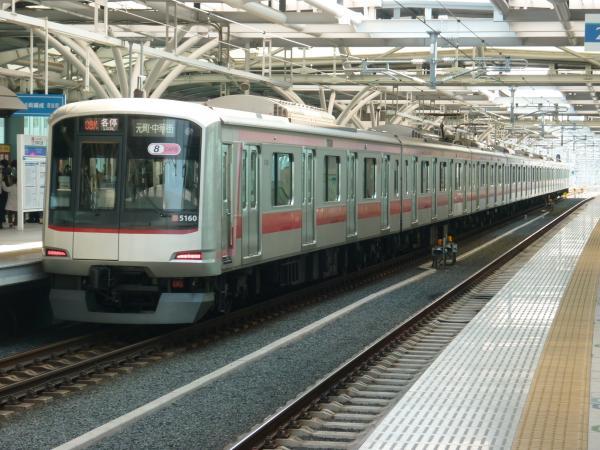 2014-03-09 東急5160F 各停元町・中華街行き