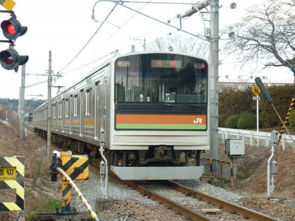 2014-03-09 八高線205系ハエ85編成 川越行き2
