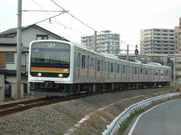 2014-03-09 八高線209系ハエ63編成 八王子行き