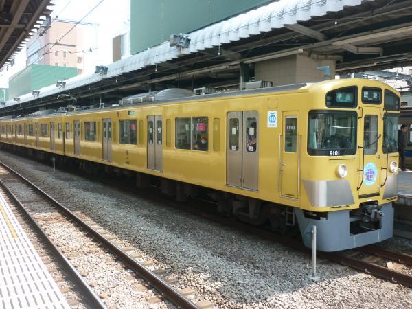 2015-03-22 西武9101F 準急飯能行き1 4129レ