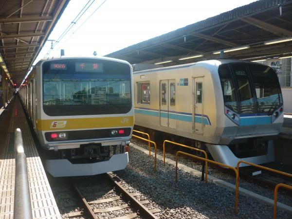 2015-03-25 総武線E231系ミツB41編成 千葉行き3