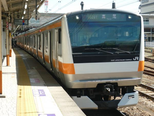 2015-03-25 中央線E233系トタ1編成 高尾行き