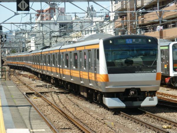 2015-03-25 中央線E233系トタT39編成 中央特快東京行き