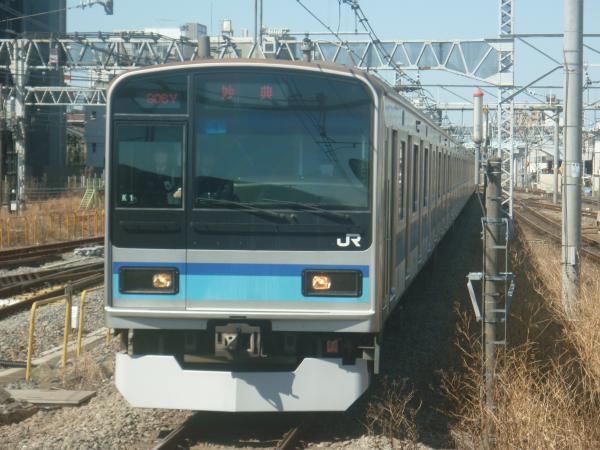 2015-03-25 東西線直通E231系ミツK1編成 妙典行き