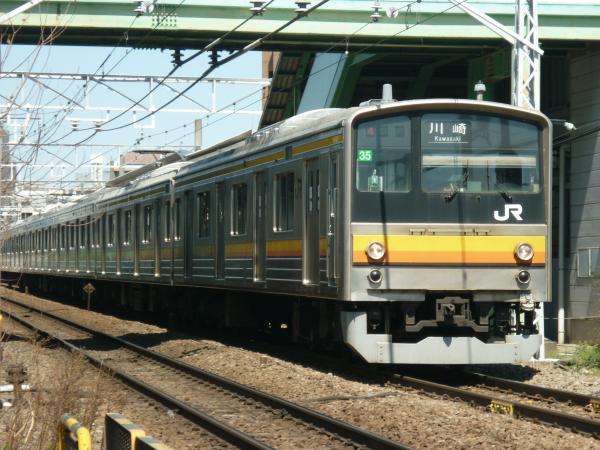 2015-03-25 南武線205系ナハ35編成 川崎行き