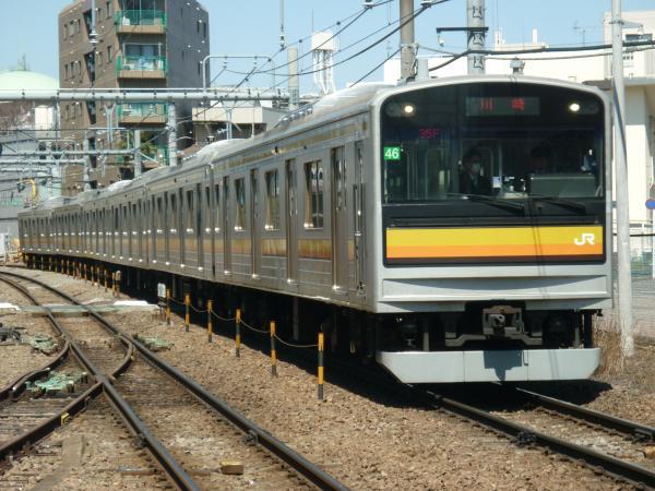2015-03-25 南武線205系ナハ46編成 川崎行き