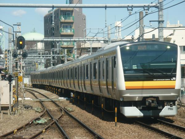 2015-03-25 南武線E233系ナハN2編成 各駅停車川崎行き