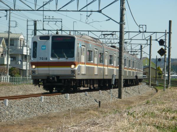 2015-03-27 メトロ7118F 快速急行飯能行き 1703レ