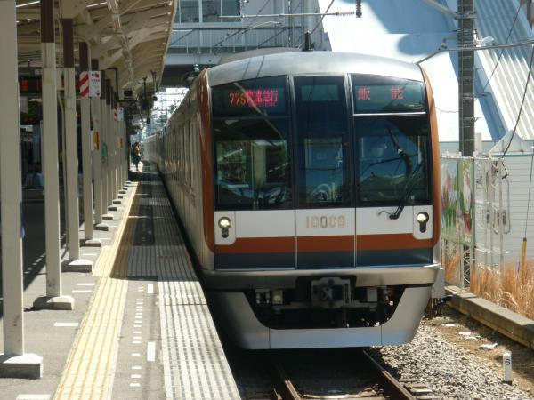 2015-03-27 メトロ10108F 快速急行飯能行き 1701レ