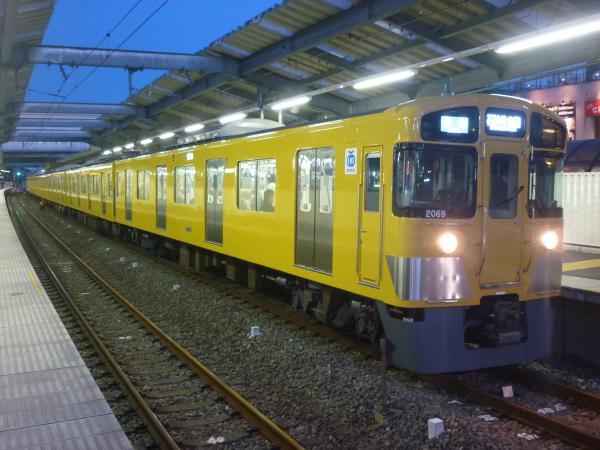 2015-03-27 西武2069F 各停石神井公園行き 5613レ
