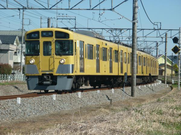 2015-03-27 西武2089F 各停飯能行き 5117レ