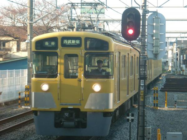 2015-03-27 西武2455F+2025F 各停西武新宿行き1 5836レ
