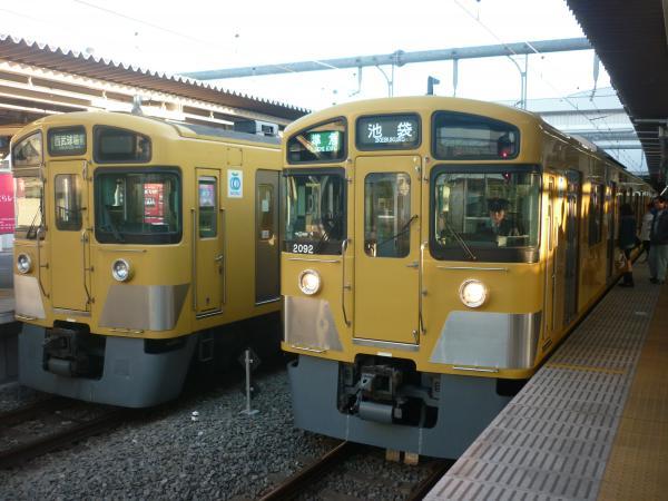 2015-03-27 西武2539F+2513F 2461F+2091F
