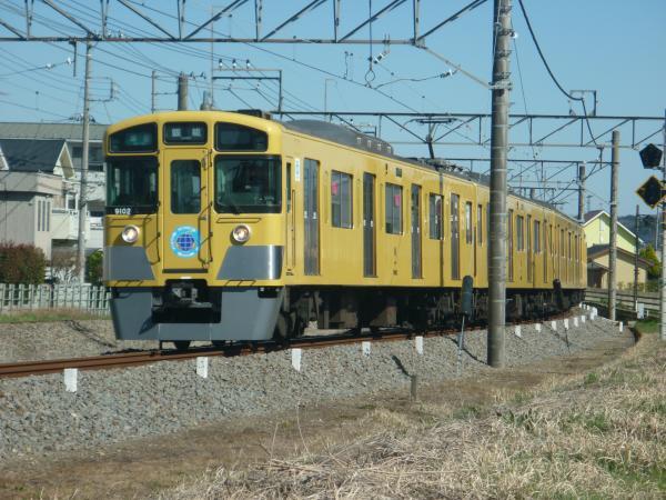 2015-03-27 西武9102F 準急飯能行き 4137レ