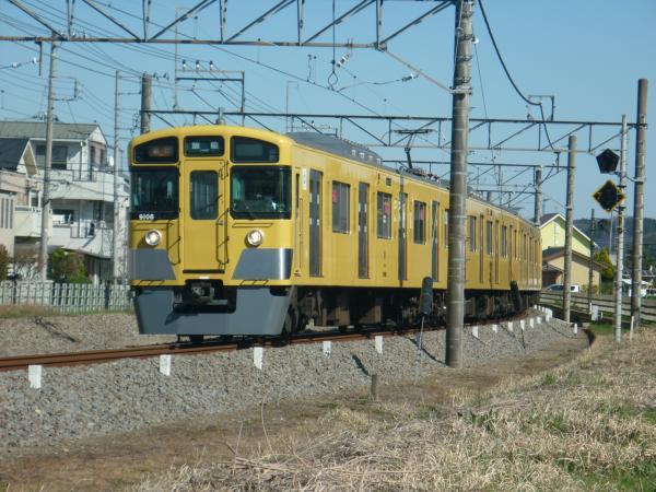 2015-03-27 西武9106F 急行飯能行き 2147レ
