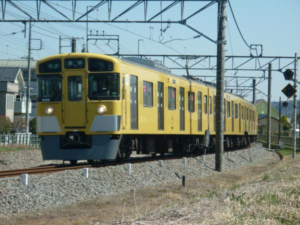 2015-03-27 西武9106F 準急飯能行き 4129レ