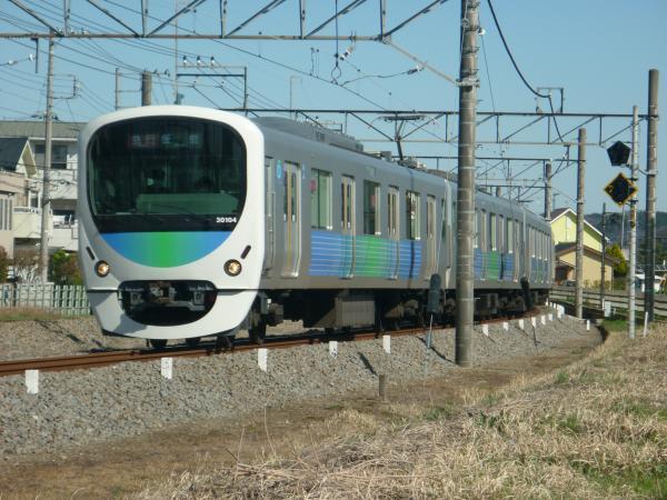 2015-03-27 西武30104F 急行飯能行き 2149レ