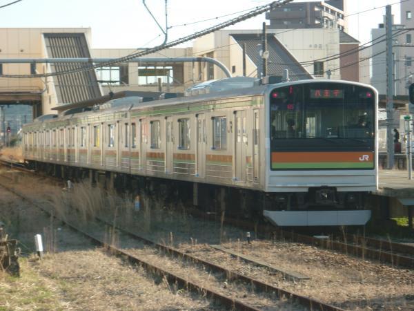 2015-03-27 八高線205系ハエ84編成 八王子行き