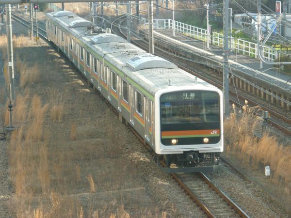 2015-03-27 八高線209系ハエ64編成 川越行き