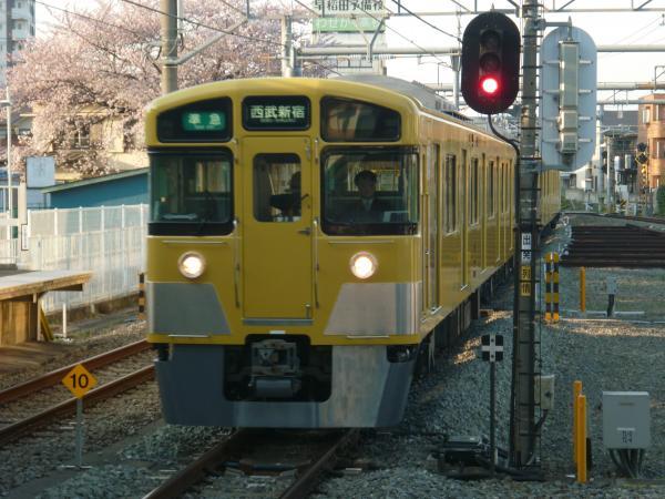 2015-03-30 西武2515F+2027F 準急西武新宿行き 4808レ
