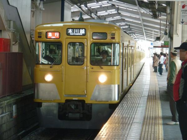 2015-03-30 西武2529F+2033F 急行本川越行き 2625レ
