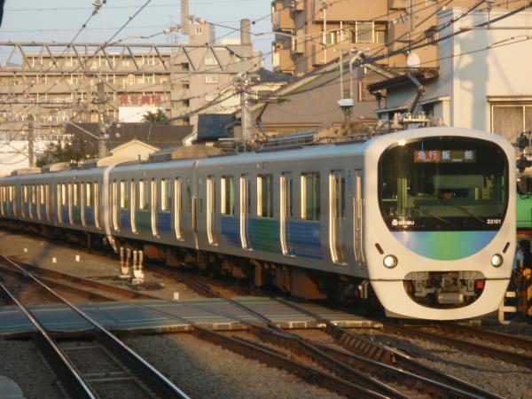 2015-03-30 西武32101F+38103F 急行飯能行き 2167レ