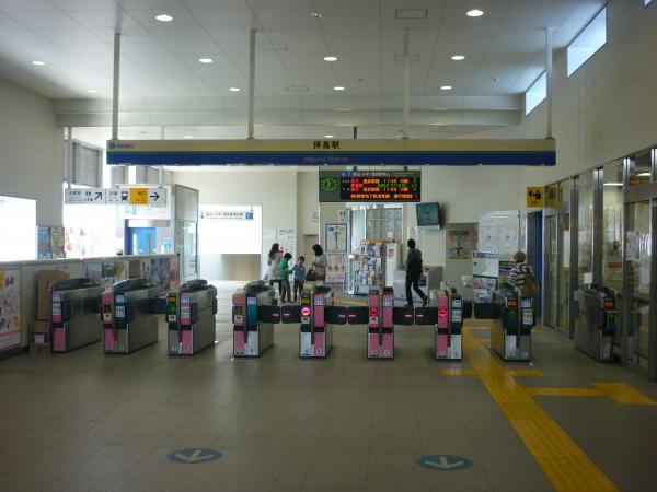 2015-03-30 拝島駅 自動改札機