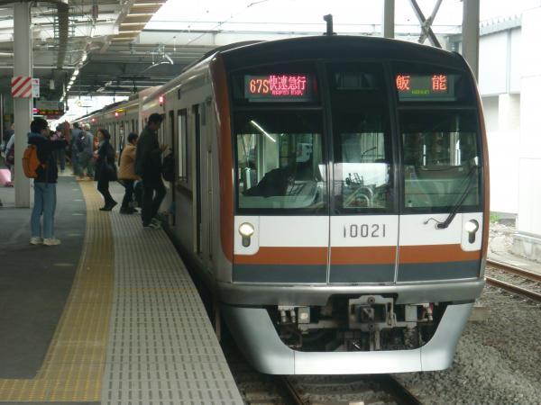 2015-04-01 メトロ10121F 快速急行飯能行き 1703レ