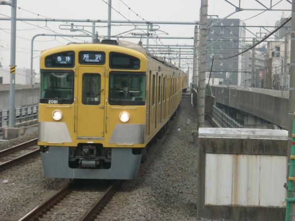2015-04-01 西武2091F 各停所沢行き 5313レ