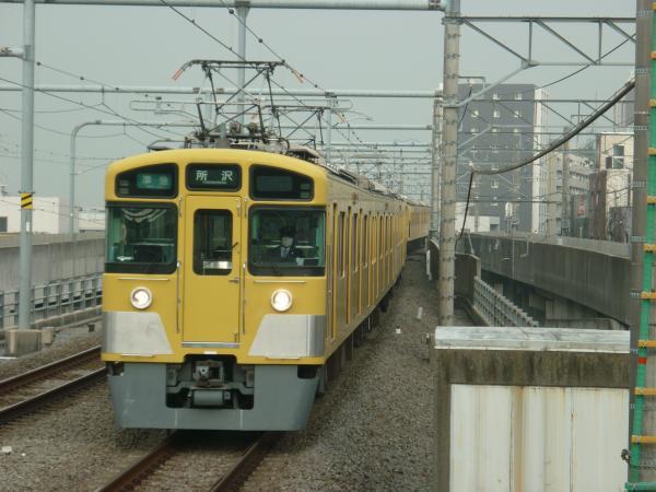 2015-04-01 西武2459F+2087F 準急所沢行き 4313レ