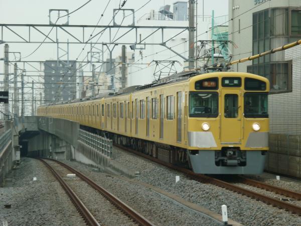 2015-04-01 西武2461F+2079F 急行飯能行き 2157レ