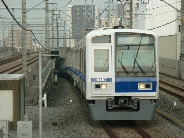 2015-04-01 西武6157F 快速急行飯能行き 1711レ