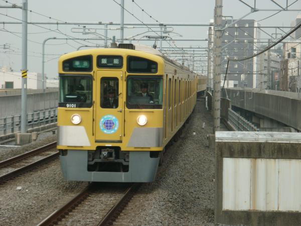 2015-04-01 西武9101F 準急飯能行き 4145レ
