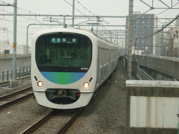 2015-04-01 西武30103F 準急飯能行き 4143レ