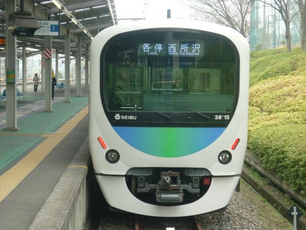 2015-04-01 西武38115F 各停西所沢行き1 6164レ