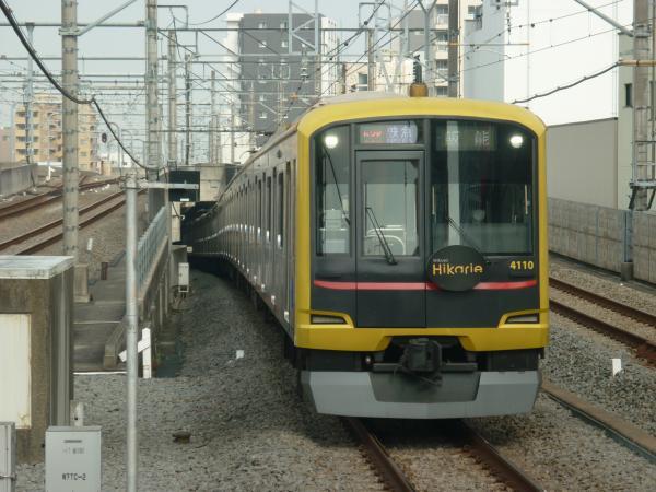 2015-04-06 東急4110F 快急飯能行き 1709レ
