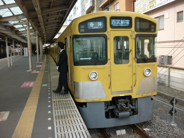 2015-03-23 西武2083F 各停西武新宿行き