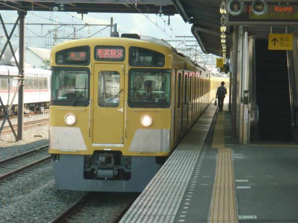 2015-04-25 西武2097F 各停西武秩父行き 5033レ