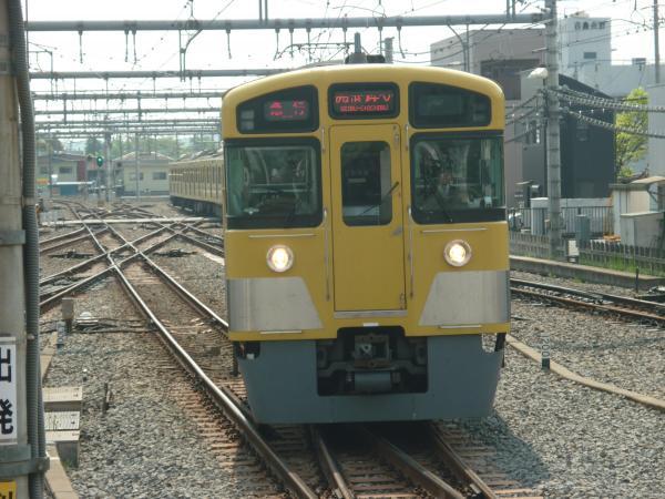 2015-04-25 西武2097F 急行西武秩父行き 2103レ