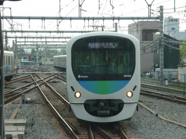 2015-04-25 西武38102F 快速急行西武秩父行き