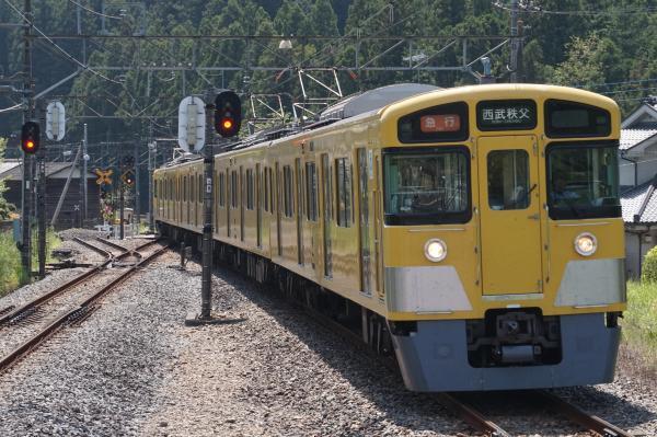 2015-05-02 西武2501F+2503F 急行西武秩父行き 5017レ