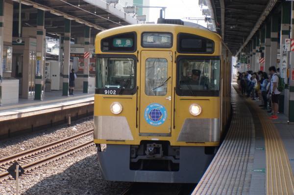 2015-05-02 西武9102F 準急飯能行き1 4117レ