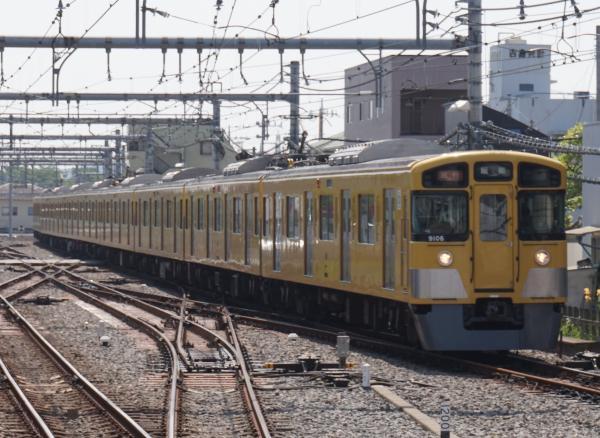 2015-05-02 西武9106F 急行飯能行き 2105レ